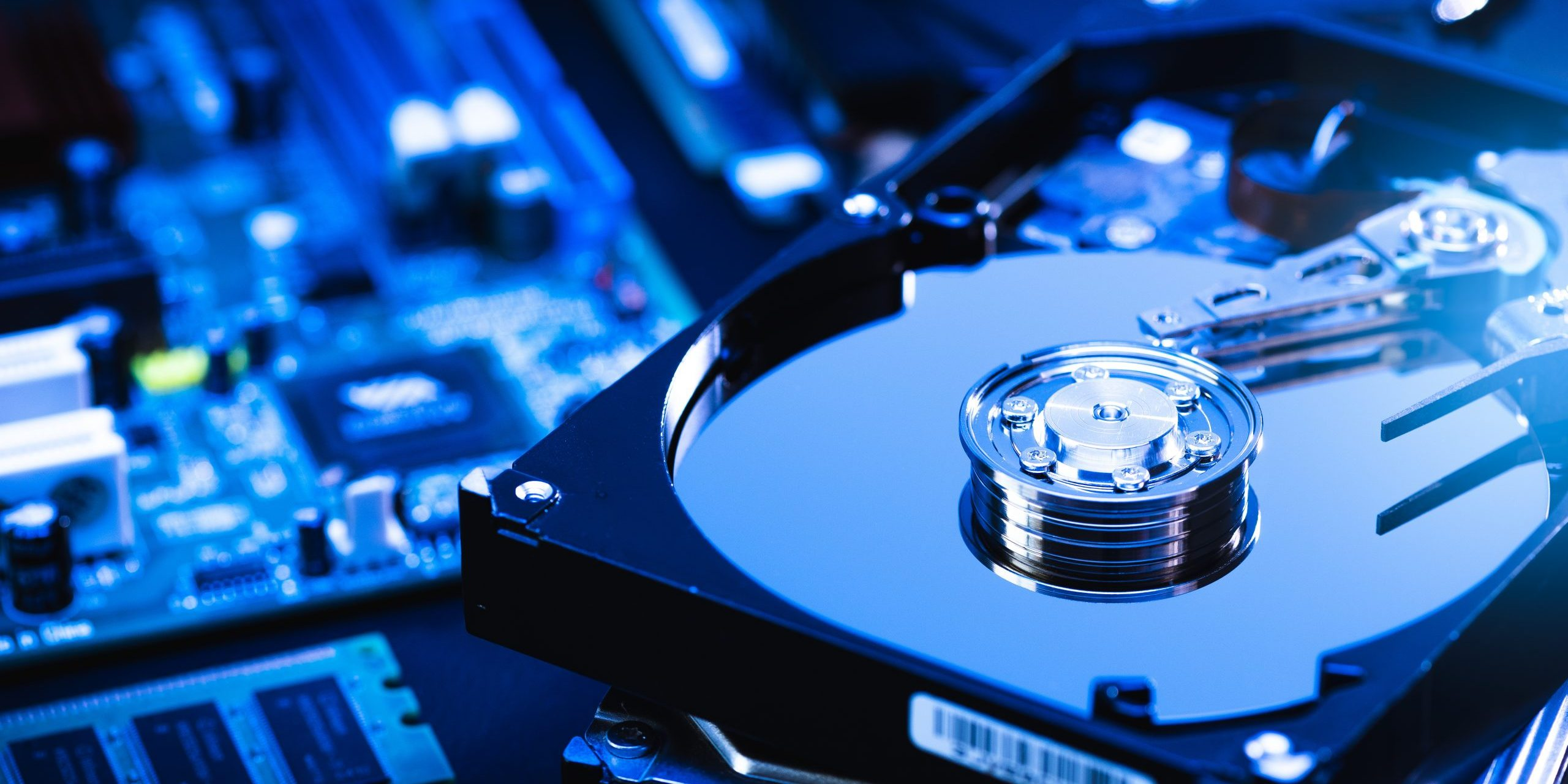 Hard drive and computer components